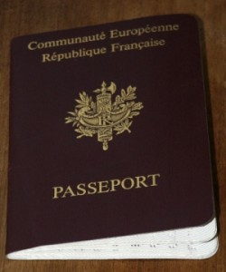 Passport of French teacher
